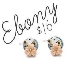 NEW Plunder Ebony Earrings